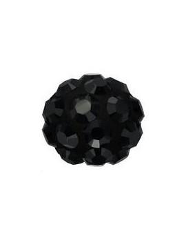 Pave ball 4mm jet hematite