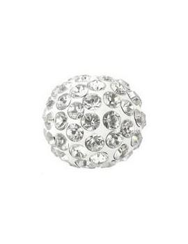 Pave ball 8mm crystal