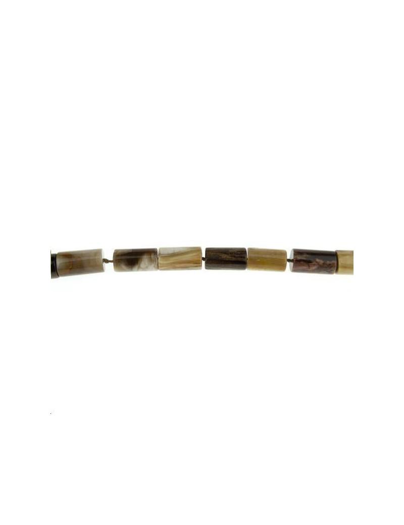 Bois opalite cylindre 11-14mm lot de 1 pièce