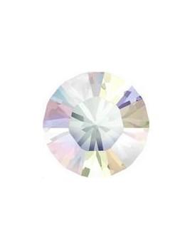 Lot de 20 pièces xilion chaton 3.2 mm (PP24) Crystal AB
