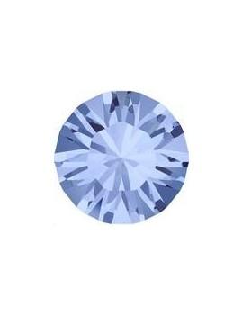 Lot de 20 pièces xilion chaton 3.2 mm (PP24) Light sapphire foiled