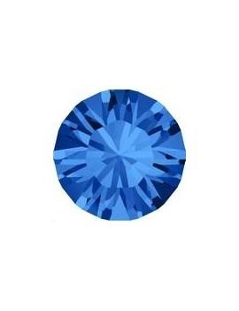 Lot de 20 pièces xilion chaton 3.2 mm (PP24) Sapphire foiled