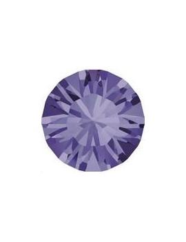 Lot de 20 pièces xilion chaton 3.2 mm (PP24) Tanzanite foiled