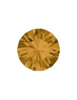 Lot de 20 pièces xilion chaton 3.2 mm (PP24) Topaz foiled