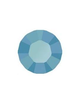 Lot de 20 pièces xilion chaton 3.2 mm (PP24) Turquoise unfoiled