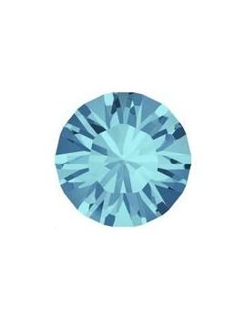 Lot 50 pièces strass plat à coller 2mm (SS6) aquamarine foiled