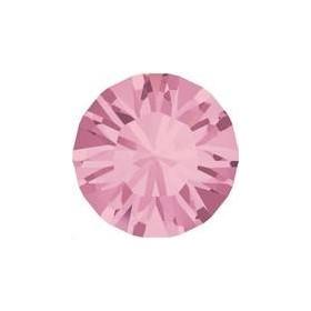 Lot 50 pièces strass plat à coller 3,2mm (SS12) light rose foiled