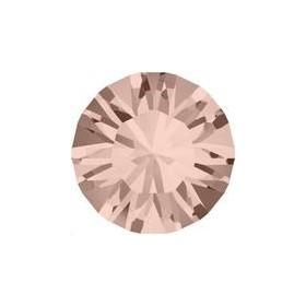 Lot 50 pièces strass plat à coller 3,2mm (SS12) vintage rose foiled