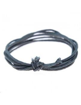Fashion cord diamètre 0,8mm gris foncé vendu au mètre