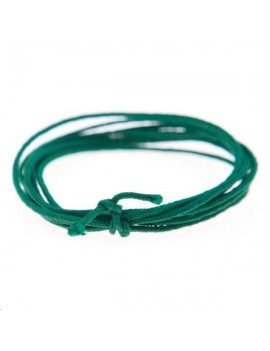 Fashion cord diamètre 0,8mm vert sapin vendu au mètre