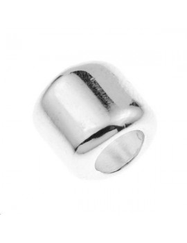 Intercalaire cylindre motif étoile 10x10mm