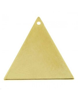Pampille triangle 1 trou 19x19x21mm