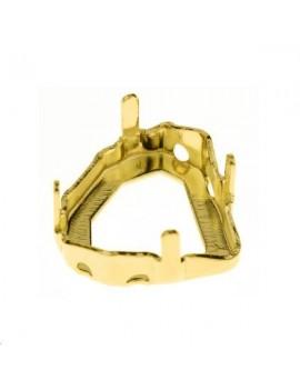 Sertissure pour 4928 12mm 4 trous doré