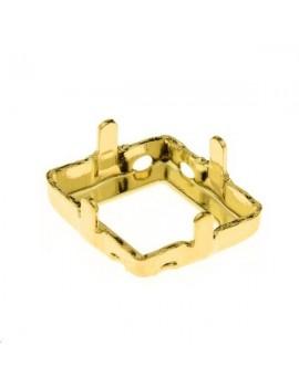 Sertissure pour 4929 14x10,5mm 4 trous doré