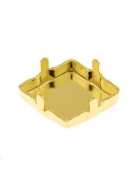 Sertissure pour 4929 14x10,5mm pleine doré