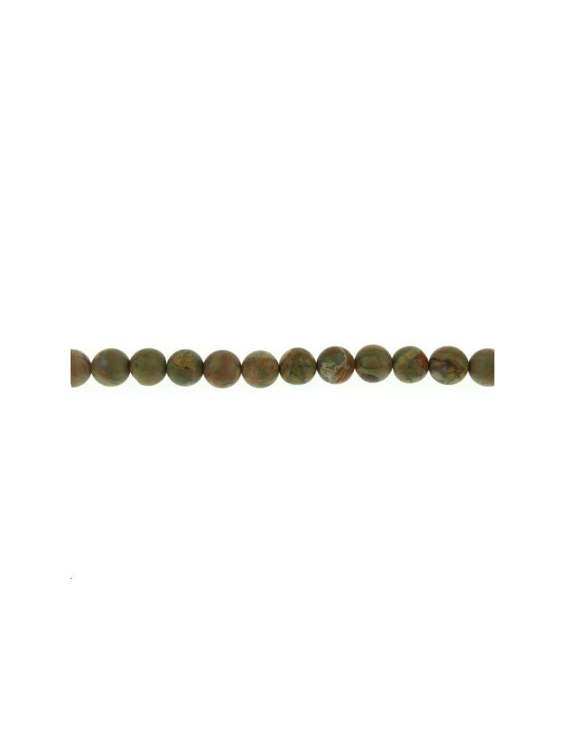 Rhyolite 9-10mm mate lot de 4 pièces