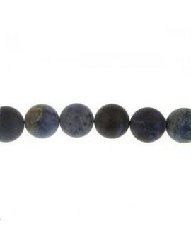 Dumortiérite 15-16mm mate grade AB lot de 1 pièce