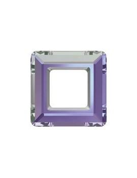 Carré évidé 20mm crystal vitrail light