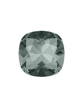 Cabochon carré 10mm black diamond foiled
