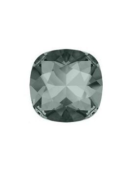 Cabochon carré 12mm black diamond foiled