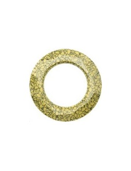 Cosmic ring 20mm marbled yellow