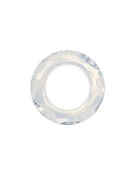 Cosmic ring 20mm white opal