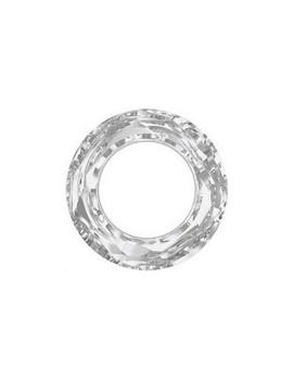Cosmic ring 30mm crystal comet argent light