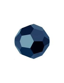 ronde 4mm crystal metallic blue