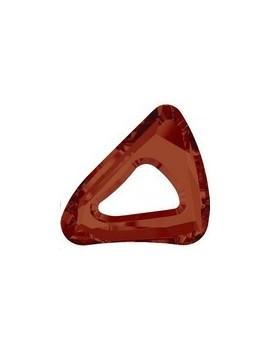 organic cosmic triangle 14mm crystal red magma