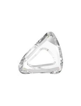 organic cosmic triangle 20mm crystal unfoiled