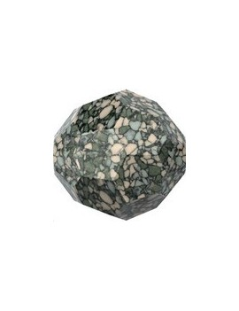 ronde 10mm marbled seagreen
