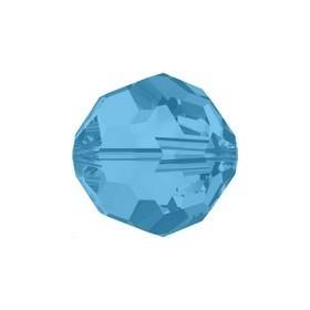 Ronde 3mm carribean blue opal