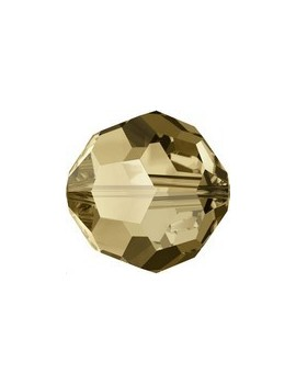 Ronde 3mm crystal bronze shade