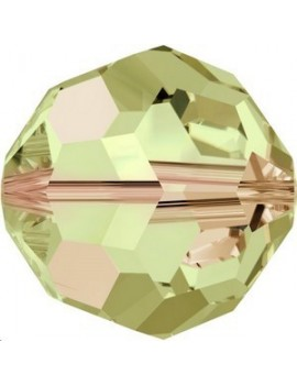 Ronde 3mm crystal luminous green