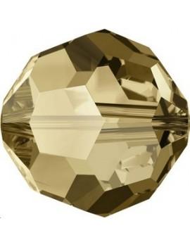 Ronde 3mm crystal bronze shade