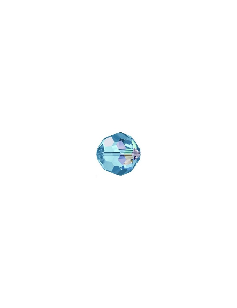 ronde 8mm aquamarine AB