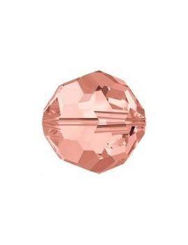 ronde 4mm rose peach