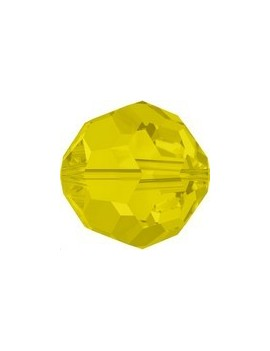 ronde 4mm yellow opal