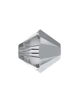 Toupie 6MM Crystal comet argent light