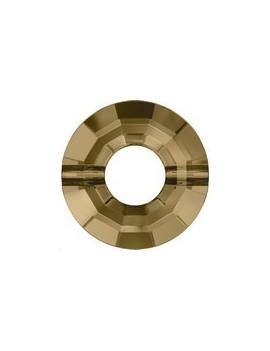 Ring bead 12,5mm crystal bronze shade