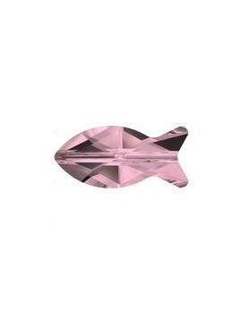 Fish bead 14mm crystal