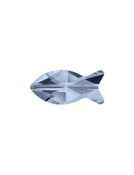 Fish bead 14mm denim blue