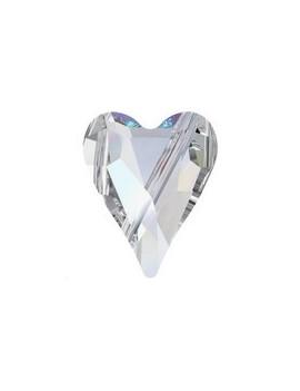 Wild Heart bead 12mm Crystal AB