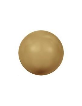Nacre 10mm gros trou bright gold