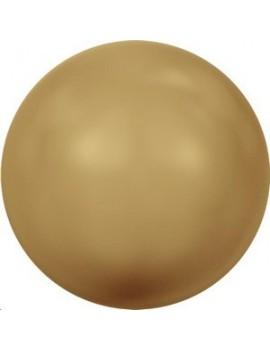 Nacre 12mm gros trou bright gold