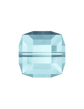 Cube 4MM Aquamarine ABB