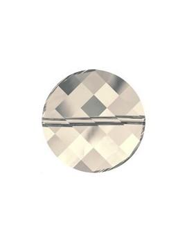 Twist bead 18mm crystal moonlight
