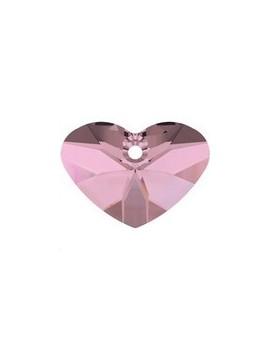 Pendentif designer edition CRAZY-4-U 17mm crystal antique pink