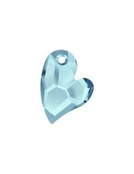 pendentif designer edition devoted 2 U 17mm aquamarine