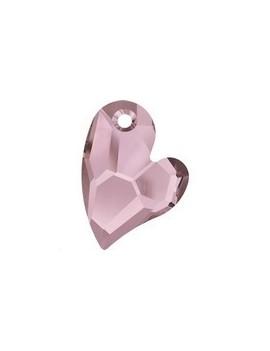 pendentif designer edition devoted 2 U 17mm crystal antique pink